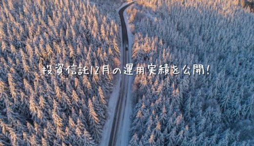 【2019年12月運用実績】100円から始める投資信託生活【楽天証券】